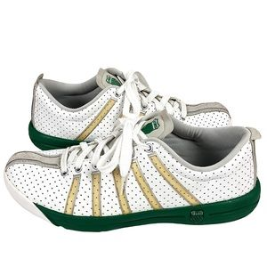 K-Swiss Aosta 11 Sneakers White Perforated Leather